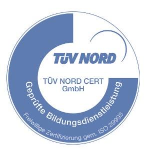 TÜV Nord Zertifikat